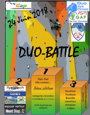 Affiche DuoBattle2018 mini